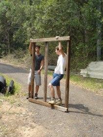 Rafael & Frank - Building compost toilet