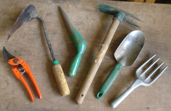 Some of my few trusted tools