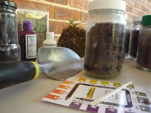 Understand your soil: a simple jar test and pH test