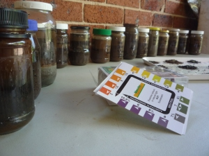 A collection of Valley's End soil tests