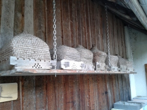Old style beehives, still in operation