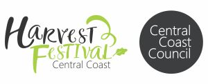 Colour Harvest Festival and Central Coast Council lockup.